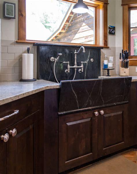 soapstone farmhouse kitchen sinks custom soapstone farmhouse style apron front sink 5583