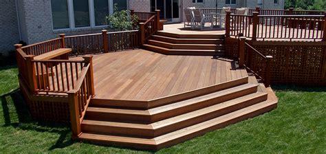 the deck and patio company island landscape designer