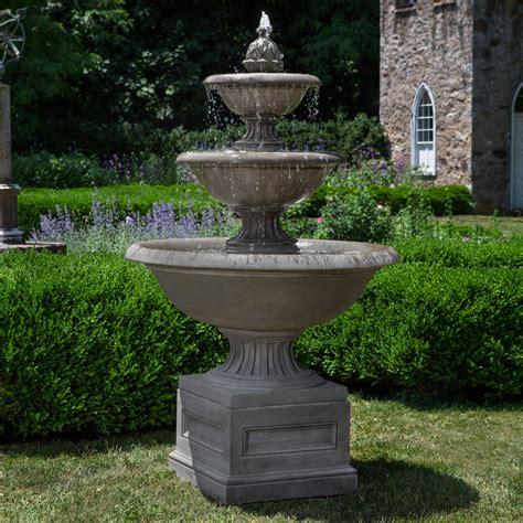 Campania International Fonthill 3 Tier Outdoor Fountain