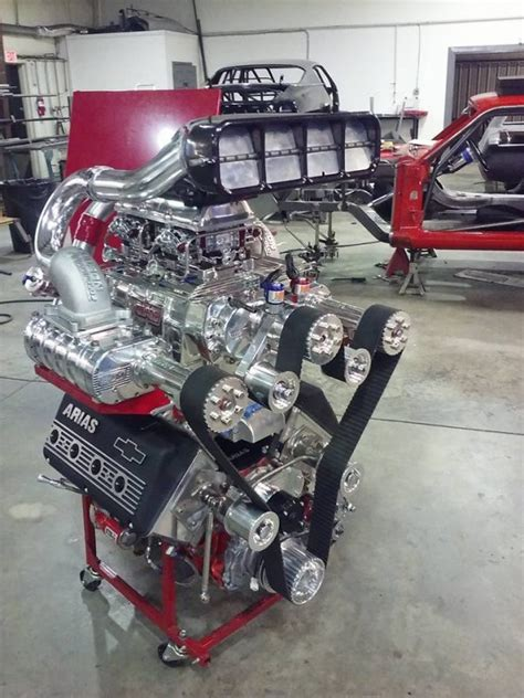 mustang   triple supercharged lsx  engine