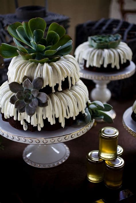 wedding cake trends   love  bundt wedding
