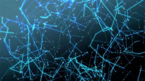 Digital Network Wallpaper Hd by Blue Molecule Network 4k Ultrahd Wallpaper Wallpaper
