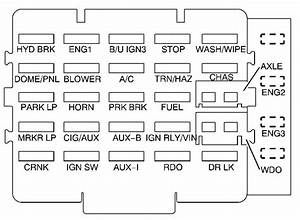 98 Ford Contour Fuse Panel Diagram