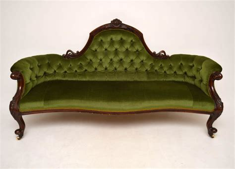 antique sofa for sale antique victorian mahogany sofa loveantiques com