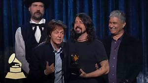 Paul Mccartney  Dave Grohl  Krist Novoselic And Pat Smear Win Best Rock Song