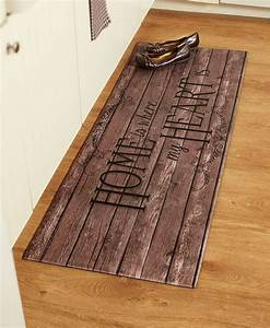 55, U0026quot, Comfortable, Cushioned, Kitchen, Runner, Rug, Mat, Country, Rustic, Farm, Heart, Chef