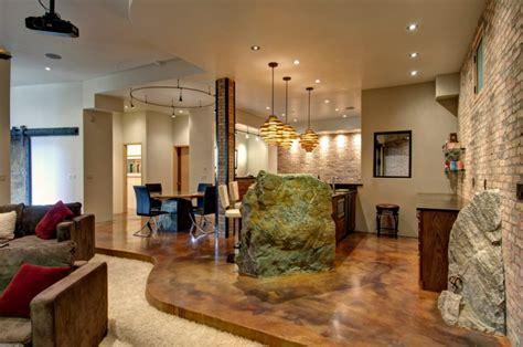 17  Basement Flooring Designs, Ideas   Design Trends