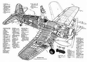 Corsair Cutaway Drawings
