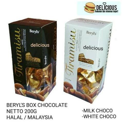 beryls tiramisu almond  chocolate coklat malaysia