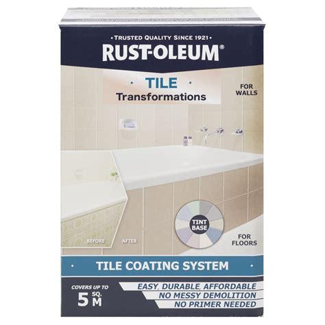 rust oleum tile transformations coating system bunnings