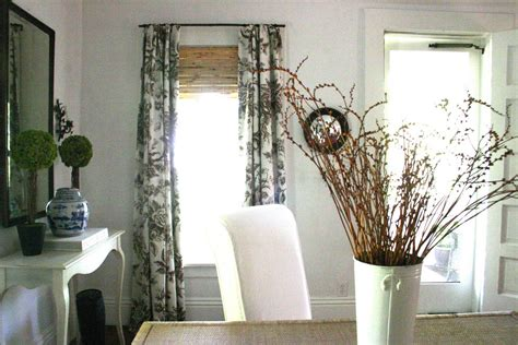 bamboo curtain rods finials window treatments design ideas