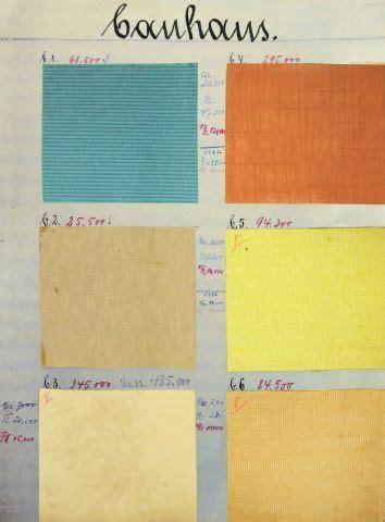 Schöner Wohnen Farbkarte by Bauhaus Colours 1930 Color Palette Vintage Colour