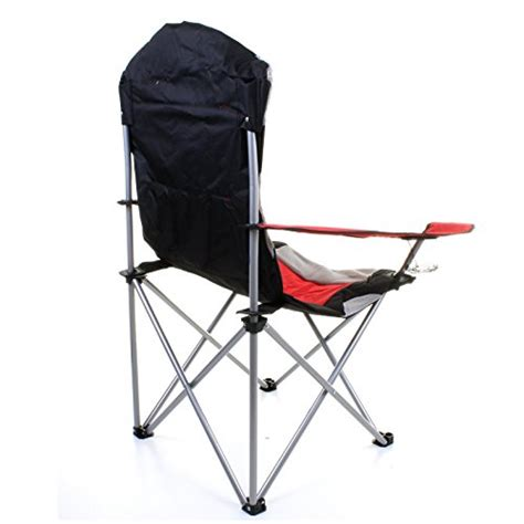 marko outdoor grey heavy duty deluxe padded folding