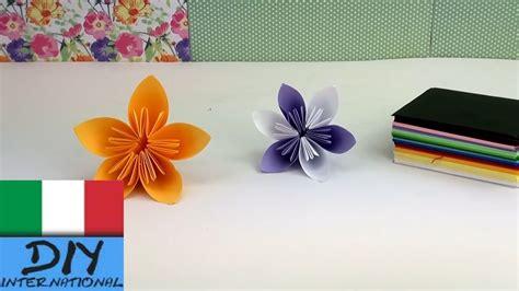 origami per bambini fiori origami fiori facili piegare fiori origami bellissimi