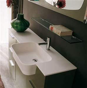 Credence Lavabo Salle De Bain : des vasques de salle de bains design inspiration bain ~ Dode.kayakingforconservation.com Idées de Décoration