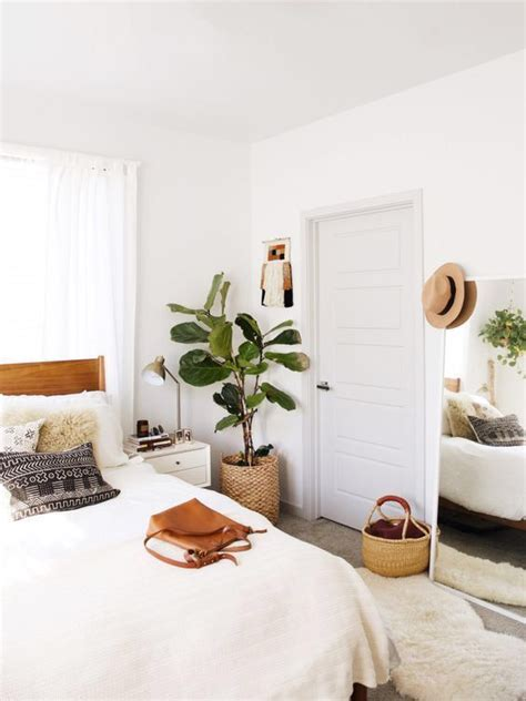 Bedroom Inspiration Plants by Minimalist Boho Bedrooms That Are Beyond