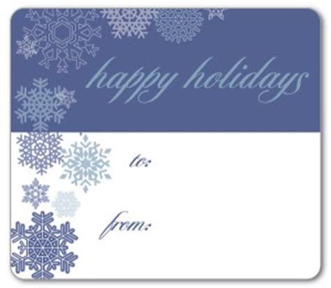 printable blue snowflake gift tags template