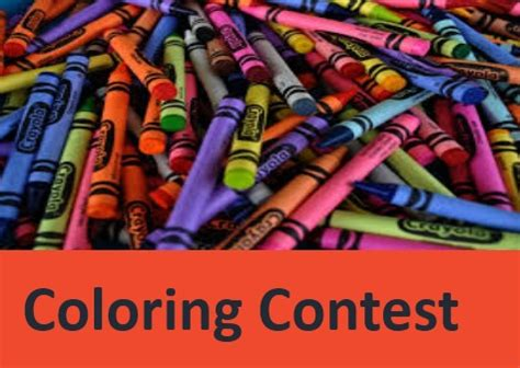 Coloring Contest by Coloring Contest Office Of The President Of