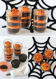 Recette Halloween Salé : cupcake in jar cherry plum ~ Melissatoandfro.com Idées de Décoration
