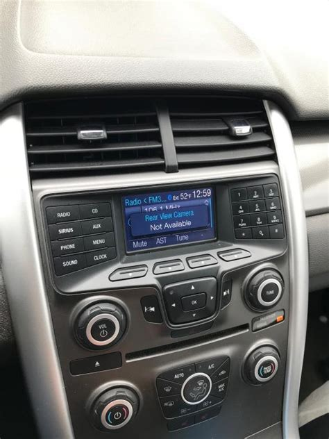 ford edge   camera  working properly