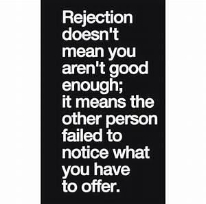 46 best images about Rejection on Pinterest   Regret ...