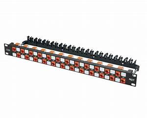 24 Port Category 6a  Augmented  Patch Panel