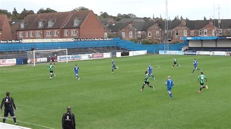 Gainsborough Trinity 1 Worcester City 2 - YouTube