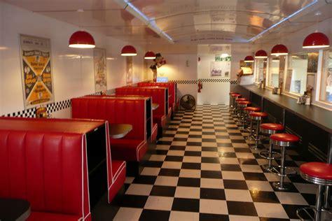 american diner möbel leyland trading estate steps back to the 1950s diners