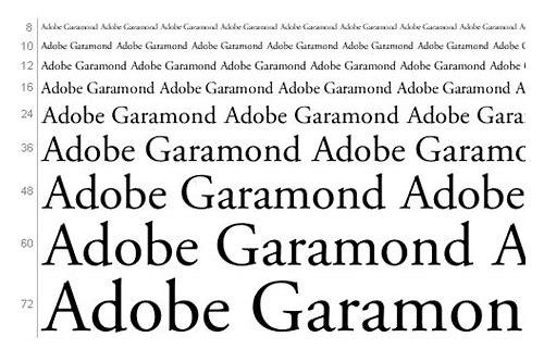 baixar grátis garamond pro regular font