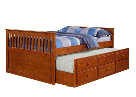 trundle bed with wooden full size bed with trundle loft bed design