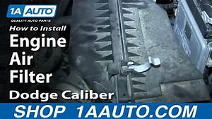 How To Install Replace Engine Air Filter 2007
