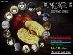 Death Note Shipping Meme