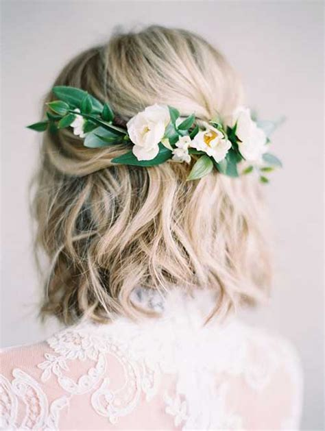 Excellent Wedding Hairstyles For Short Hair  The Best
