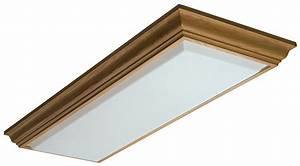 Use of fluorescent kitchen light fixtures