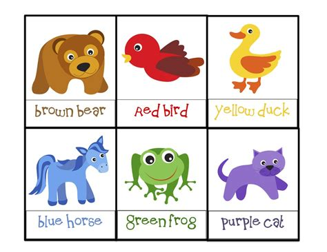 brown printable preschool printables 183 | Brown B 6 boxes