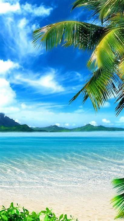 Tropical Beach Landscape Beaches Iphone Wallpapers Backgrounds