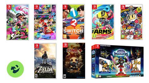 Games List For Nintendo Switch Gamesworld