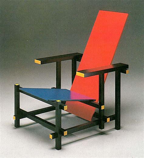 Rietveld Sedia Il De Stijl E Gerrit Rietveld