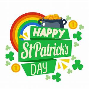 Happy St Patrick Day Background - Download Free Vector Art ...