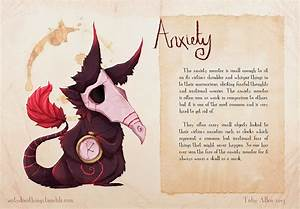 Daniel J Wiley's Portfolio: Real Monsters: Anxiety ...