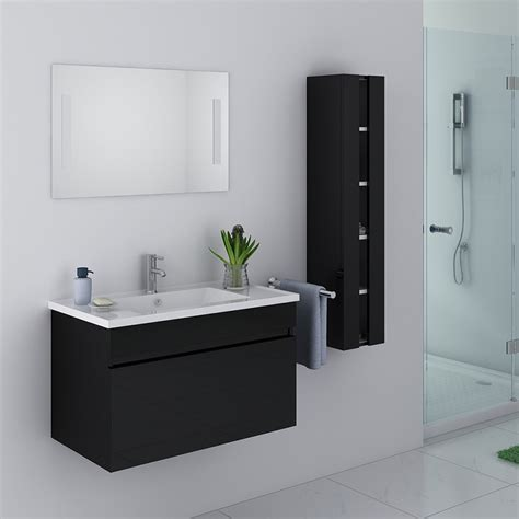 salle de bain turquoise et noir obasinc