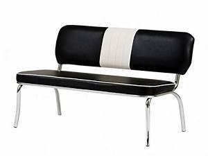 Diner Stühle Günstig : american diner sitzbank paul in schwarz wei 2 er set esszimmerst ~ Markanthonyermac.com Haus und Dekorationen