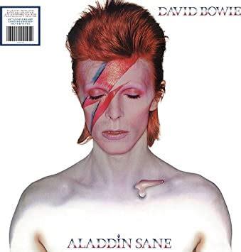 aladdin sane  anniversary silver vinyl vinyl