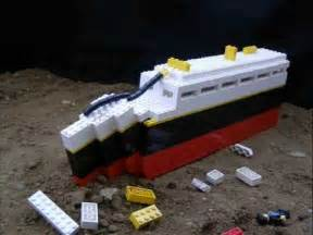 titanic will flounder a lego titanic animation youtube