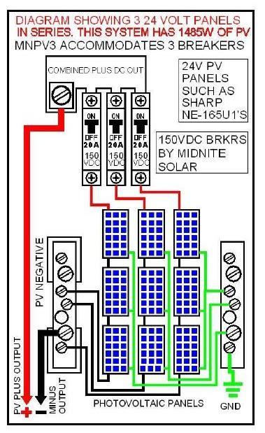 midnite solar combiner box mnpv  sale ironedisoncom