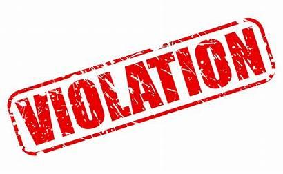 Violation Probation Stamp Violations Vector Clipart Clip