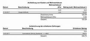 Rechnung ändern Nachträglich : google adwords rechnung und zahlungen richtig buchen ~ Themetempest.com Abrechnung