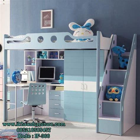 jual tempat tidur tingkat anak laki laki multifungsi desain tempat tidur tingkat anak laki laki