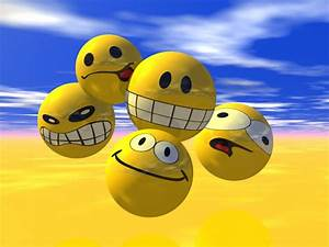 Free 3D Emoticons Smileys | Free HD Desktop Wallpapers