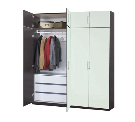 Free Standing Coat Closet by Free Standing Clothes Closet Wardrobe Home